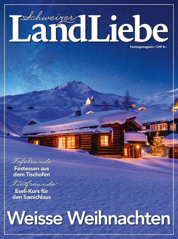 LandLiebe 2-Jahresabo für CHF 99.– inkl. Käsemesser-Set als Geschenk für Sie