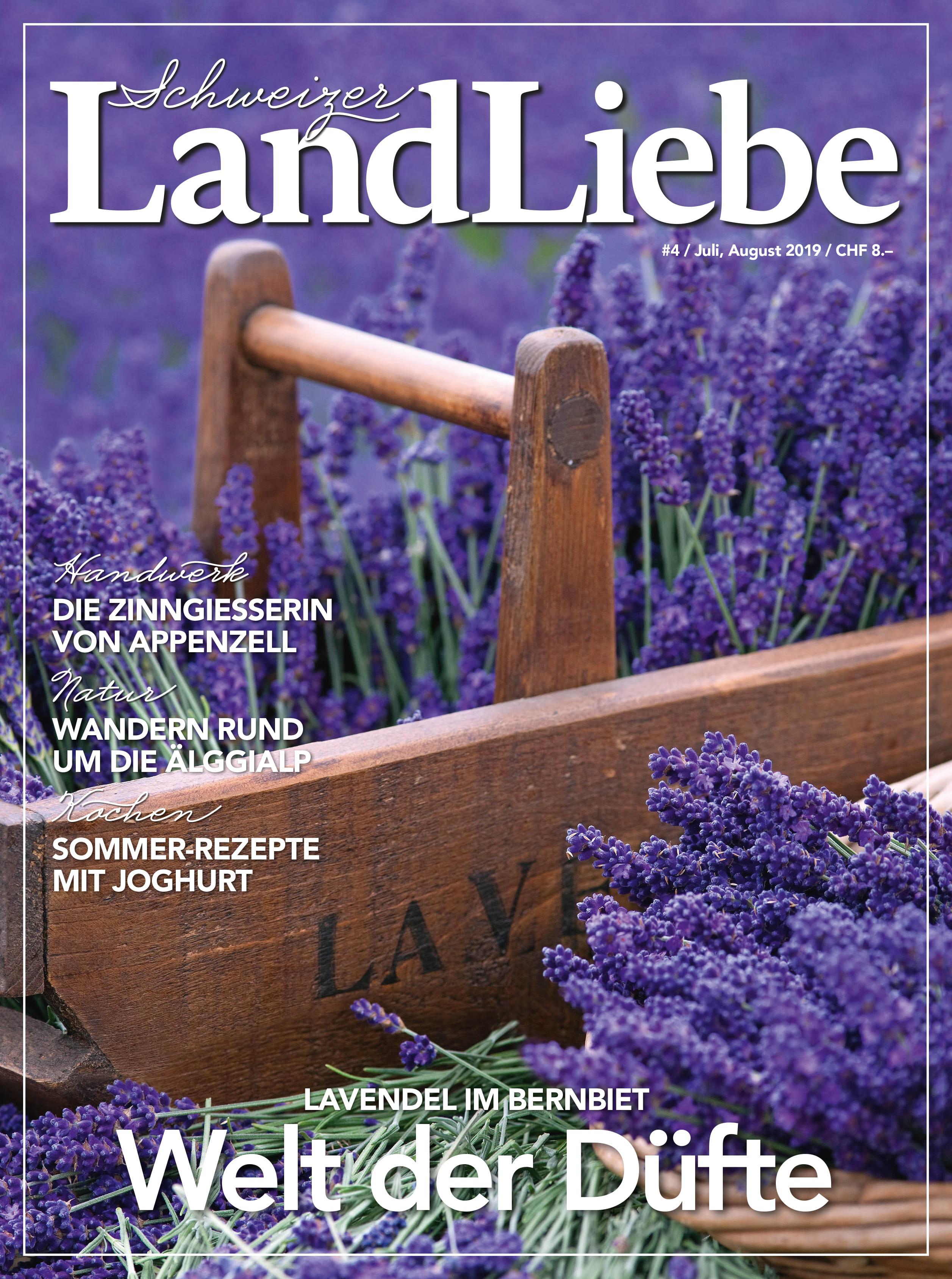 LandLiebe Jahres-Abo inklusive Victorinox Sackmesser «Camper» nur CHF 59.00