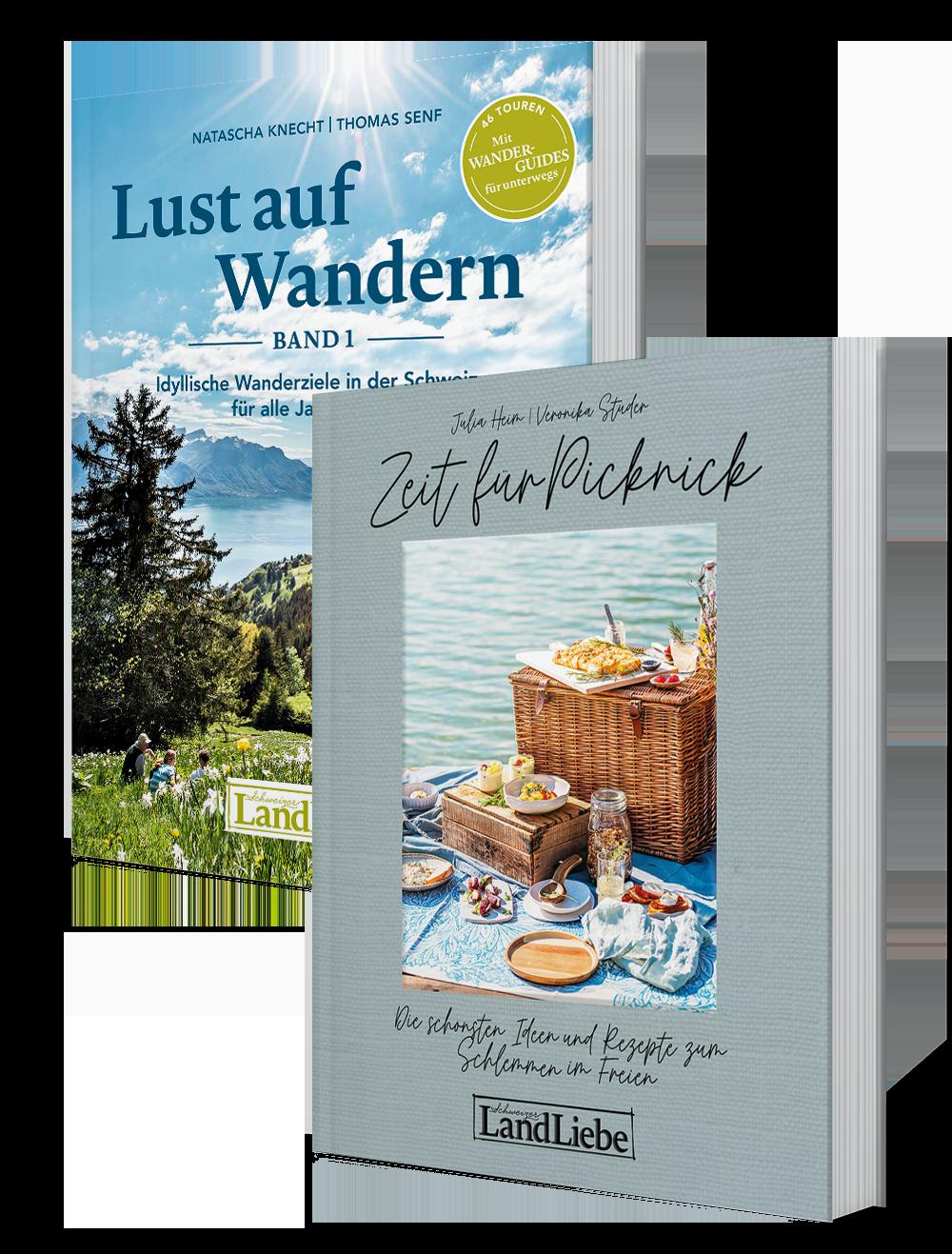 «Lust auf Wandern 1» und «Zeit für Picknick»
